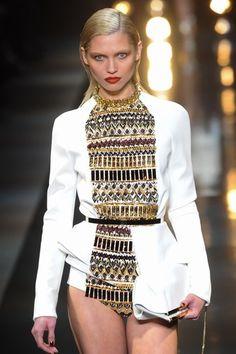 Défilé Alexandre Vauthier - Défilé Haute Couture Printemps-Eté 2014. #PFW #HauteCouture #AlexandreVauthier
