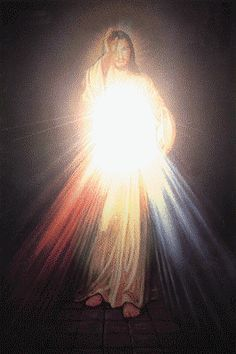 Jesus Christ, the Light Religious Pictures, Jesus Pictures, Religious Art, Miséricorde Divine, Divine Mercy, Jesus Christ Images, Jesus Art, Religion, St Faustina