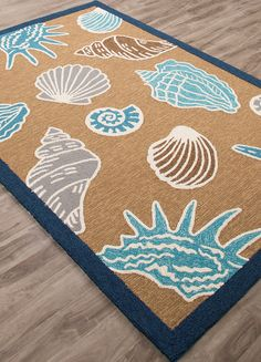Inlet Shells Area Rug