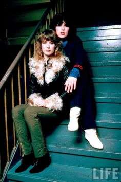 Ann & Nancy Wilson - Heart. I could tell by reading their recent biography, these sisters are very close, best friends, and have each other's backs.  Very inspiring.