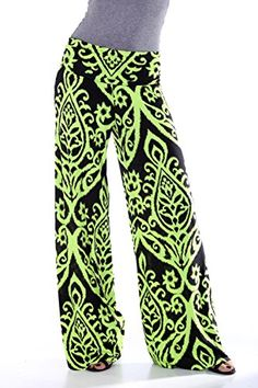 Womens MULTICOLORED TWO TONE DAMASK PRINTED PALAZZO PANTS... https://www.amazon.com/dp/B01CURBPPY/ref=cm_sw_r_pi_dp_x_9mZmybZ71G425