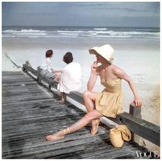 vintage summer.........Photo Roger Prigent Beyond the sea Conde nast archive vogue ESc