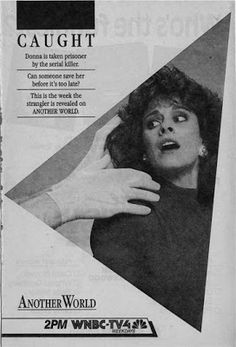 Over its 35 years on NBC, ANOTHER WORLD was occasionally promoted by the network. Here is a collection of TV Guide print advertisements that. Tv Guide, Another World, Weird, Anniversary, Ads, Outlander