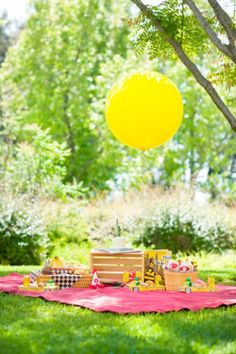 ~ Children's summer birthday parties ~