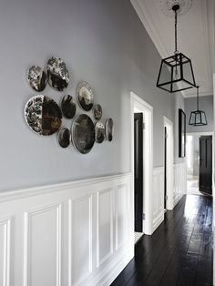 25 Best Hallway Walls Make Your Hallways As Beautiful As Entryway and Hallway Decorating Ideas Beautiful Hallway Hallways Walls Hallway Walls, Entry Hallway, Wainscoting Hallway, Wainscoting Styles, Hallway Wall Decor, Grey Hallway, Upstairs Hallway, Hallway Storage, Foyer Decorating