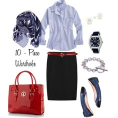 Love this comfy work outfit! With the comfy shoes, it's perfect for meetings right off the plane!!