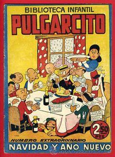 Pulgarcito: número extraordinario de Navidad y Año Nuevo / Navidad en todocoleccion. Vintage Comics, Retro Vintage, Old Posters, Childhood Characters, Curious Cat, Comics Universe, I Love Books, Conte, Vintage Advertisements