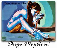 Semino pensieri accidentali...semplicemente Zed72: Diego Magliani Art, il dipinto esposto a Dublino