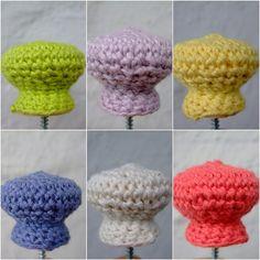 <3 crochet knobs!!!