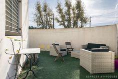Marseille : Maison loft avec terrasses