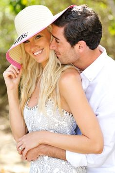 So cute for an engagement picture. Marley Lilly by McKenna Bleu