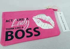 Hey, I found this really awesome Etsy listing at https://www.etsy.com/uk/listing/538579128/act-like-a-lady-think-like-a-boss-makeup
