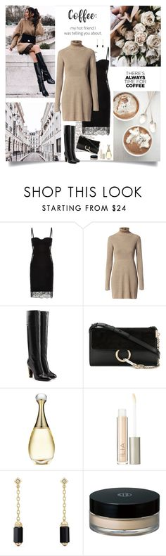 """Coffee: my hot friend I was telling you about"" by danniss ❤ liked on Polyvore featuring Wildwood, Dukes, La Perla, Diesel, Marc Jacobs, Chloé, Ilia, David Yurman, Koh Gen Do and CoffeeDate"