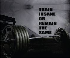 Train Insane Or Remain The Same wall decal. *****Store Policies****** **Shipping and Payments** -Domestic Shipping Items are shipped via USPS First Class Mail. Delivery usually takes 2-5 days once the