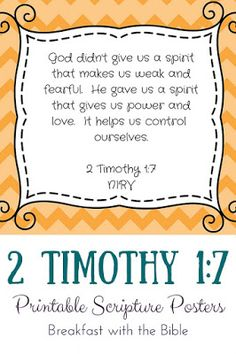 Printable Scripture posters from Faith for the Littles!  Great for memory verses, Sunday School displays, or morning Bible time!