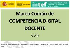Marco de Compentencia Digital Docente.
