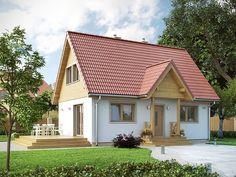 DOM.PL™ - Projekt domu MT Motylek 2 CE - DOM ST5-46 - gotowy projekt domu