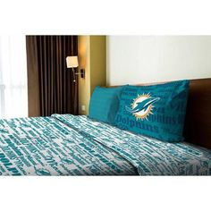 Miami Dolphins Nfl Twin Set Anthem Dolphins