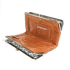 Hobo Carmel Lauren Clutch Wallet - Hobo Wallets - Designer Wallets