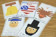 american symbols for kindergarten | Mrs. Ricca's Kindergarten: Presidents' Day Freebie!
