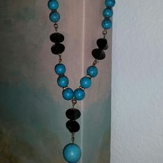 Shop Women's size OS Accessories at a discounted price at Poshmark. Diy Necklace Making, Hemp Necklace, Handmade Necklaces, Wind Chimes, Turquoise Necklace, Cosmetics, Drop Earrings, How To Make, Fashion Design
