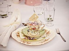 Tea Cup Wedding Favo