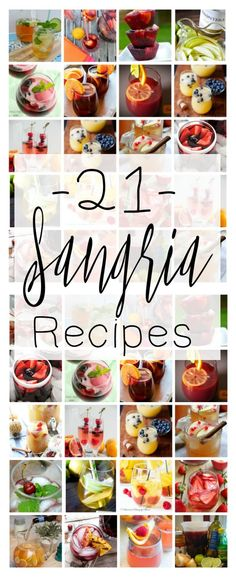 Sangria Recipes are the perfect easy-to-make addition to your outdoor alfresco dinner menu, you're sure to enjoy this awesome collection of sangria recipes from our favorite bloggers!