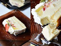 PRAJITURA DIPLOMAT - Rețete Fel de Fel Ketchup, Camembert Cheese, Cake Decorating, Cheesecake, Cooking Recipes, Sweet, Desserts, Cakes, Food