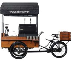 Bike Cafe - business idea for you. It is not work. It is lifestyle. Work with us and start your own mobile coffee shop.