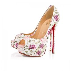 Christian Louboutin United States Official Online Boutique - Fetish Peep 150 Latte/Pompadour Watersnake Fiori available online. Discover more Women Shoes by Christian Louboutin Platform Stilettos, Peep Toe Platform, Peep Toe Pumps, Pumps Heels, Stiletto Heels, High Heels, Christian Louboutin Heels, Christian Dior, Louboutin Shoes