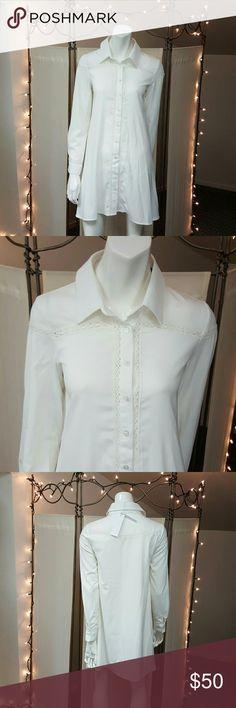 Dress/Top . Tops Button Down Shirts