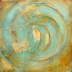 Seafoam Jewel by ERIN ASHLEY in ABSTRACTS on Fine Art Images