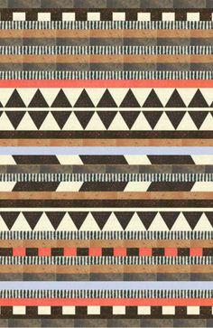 quilt inspiration Aztec by Dawn Gardner Ethnic Patterns, Geometric Patterns, Textile Patterns, Textile Design, Print Patterns, Geometric Art, Surface Pattern, Pattern Art, Surface Design