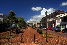 San German, Puerto Rico.  Ponce De Leon's original San German Home still stands in this Historic and Beautiful town.