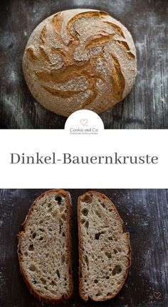 Recipe for a very tasty bread made from spelled flour. - Cookie und Co: Rezepte kochen und backen - Baking Recipes, Cookie Recipes, Kenwood Cooking, Healthy Breakfast Smoothies, Vegan Bread, Bread Bun, New Cake, Food Cakes, Pampered Chef