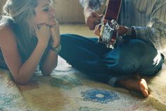 When he plays his guitar for you... <3