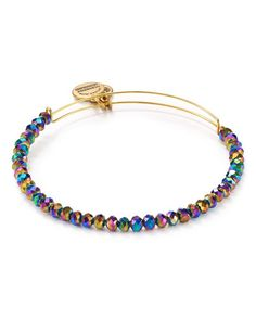 Alex and Ani Northern Lights Brilliance Bead Expandable Wire Bangle