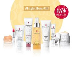 """""""Are you an #EightHour fan? There's still a chance to win a hamper of Eight Hour goodies worth £200 including our new Eight Hour All-Over Miracle Oil.…"""""""