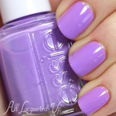 Essie Sittin' Pretty is a pink-based lavender creme