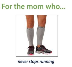 For the mom who never stops running
