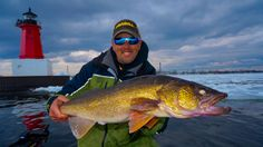 You should be fishing blade baits and jigging spoons for cold water walleye, according to this successful walleye angler.