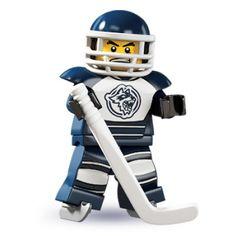 LEGO Minifigures - Hockey Player | Minifigures Series 4 | Collectable LEGO Minifigures | Firestartoys.com