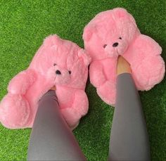 Fluffy Shoes, Cute Slides, Fuzzy Slides, Bear Slippers, Ugg Slippers, Hype Shoes, Sneaker Heels, Comfy Shoes, Dream Shoes