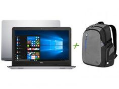 "Notebook Dell Inspiron 15 i15-5557-A10 Intel Core - i5 8GB 1TB LED 15,6"" + Mochila para Notebooks"