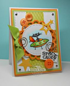 Can you say????.....Addicted(to stamps)!!!: TCPTUES288-Space Cadet...I Resemble That Remark