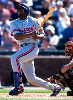 "One of my last ""favorite"" players, Vladimir Guerrero with the team he came up with.  I'm getting old."