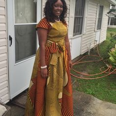 African print 2 piece Ankara 2 piece outfit.. Custom made from quality fabric Dcouture Dresses Maxi