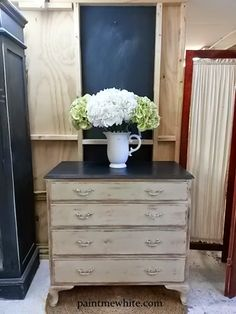 Paint Me White: Drawer Makeover