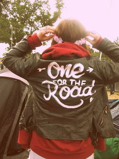 DIY 'One For The Road' Leather Jacket  / Arctic Monkeys