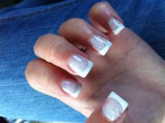 My prom nails nice nails, fun nails, pretty nails, graduation nails, spar. Diamond Nails, Gold Nails, Blue Nails, White Nails, Glitter Nails, Sparkle Nails, Graduation Nails, Prom Nails, French Nails